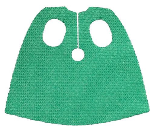LEGO Capes Green Cape with Oval Holes [Loose]