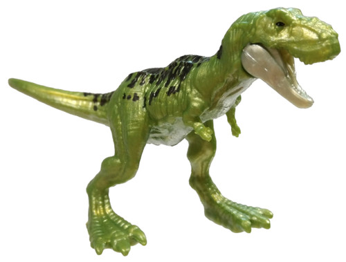 Jurassic World Matchbox Mini Dinosaur Figure Series 3 Tyrannosaurus Rex 2-Inch Mini Figure [Special Mettallic Edition Loose]