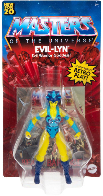 Masters of the Universe Vintage Series Evil-Lyn Action Figure