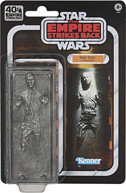 Star Wars The Empire Strikes Back 40th Anniversary Han Solo Exclusive Action Figure [Carbonite]