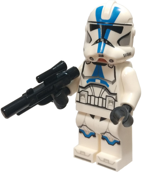 LEGO Star Wars The Clone Wars 501st Legion Clone Trooper Minifigure [Detailed Pattern Loose]