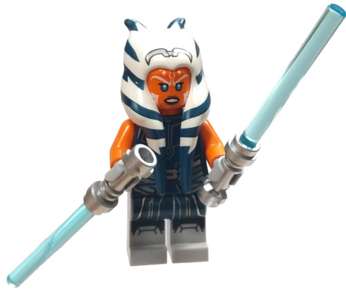 LEGO Star Wars The Clone Wars Ahsoka Tano Minifigure [Dark Blue Jumpsuit Loose]