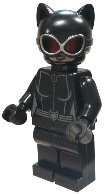 LEGO DC Universe Super Heroes Batman II Catwoman Minifigure [Red Goggles Loose]