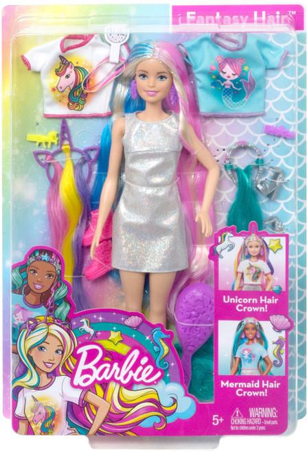 Fantasy Hair Barbie 13.25-Inch Doll [Unicorn & Mermaid, Blonde] (Pre-Order ships April)