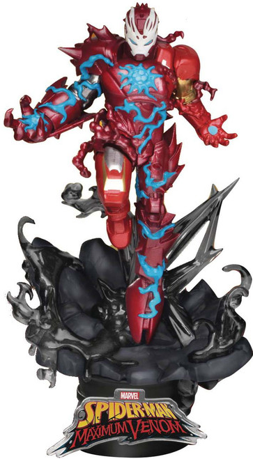 Marvel Maximum Venom D-Stage Iron Man 6-Inch Statue DS-066 (Pre-Order ships February)