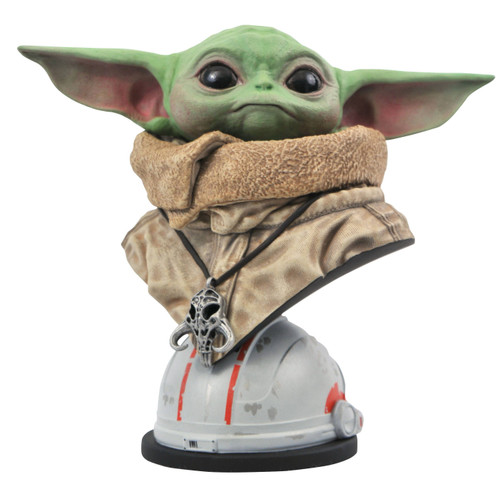 Star Wars The Mandalorian Legends in 3D The Child Half-Scale Bust [Baby Yoda / Grogu]
