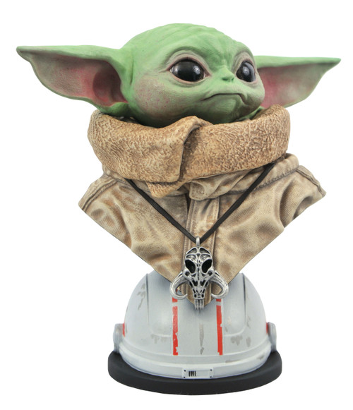 Star Wars The Mandalorian Legends in 3D The Child Half-Scale Bust [Baby Yoda / Grogu] (Pre-Order ships February)
