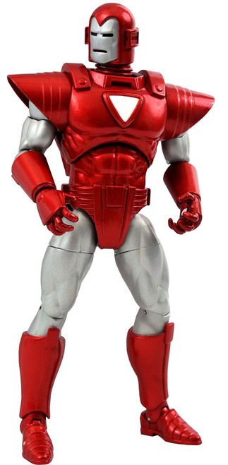 Marvel Select Silver Centurion Iron Man Action Figure (Pre-Order ships March)
