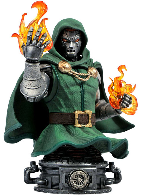 Marvel Doctor Doom 6-Inch Bust (Pre-Order ships March)