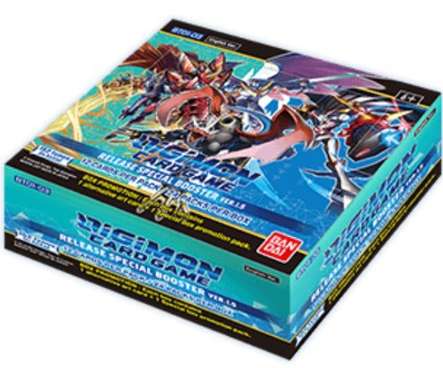 Digimon Card Game Release Special Booster Ver 1.5 Booster Box [24 Packs] (Pre-Order ships February, 2021)