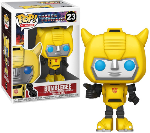 Funko Transformers POP! Retro Toys Bumblebee Vinyl Figure #23 [23]