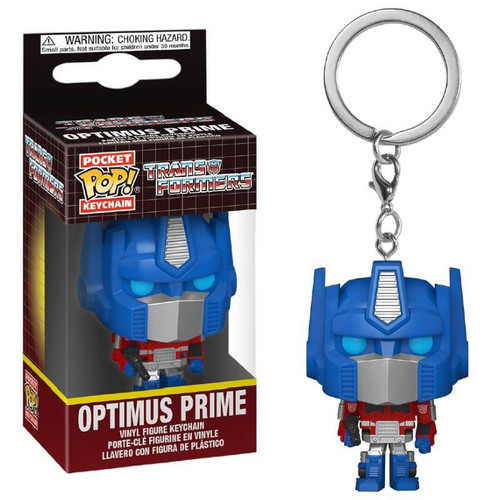 Funko Transformers POP! Keychain Optimus Prime Vinyl Figure Keychain