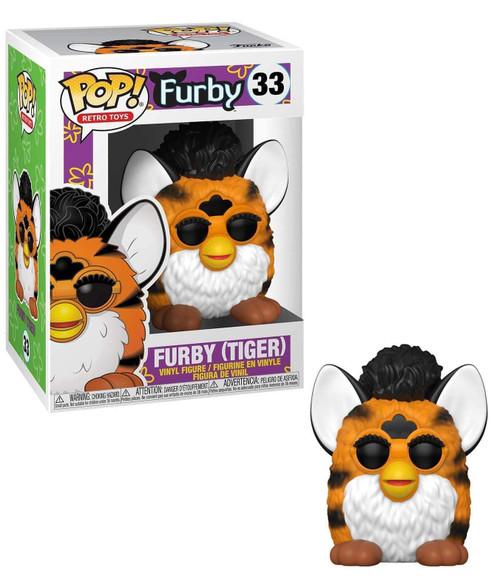 Funko Hasbro POP! Retro Toys Tiger Furby Vinyl Figure #33
