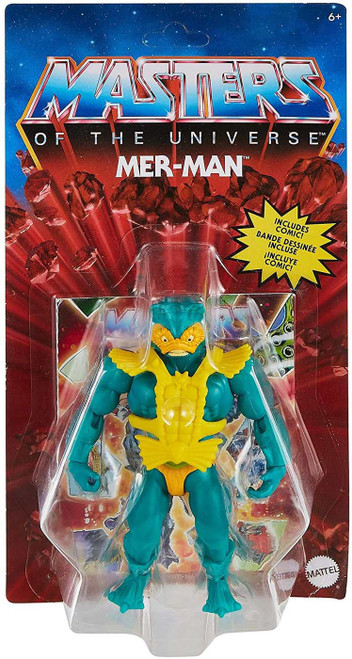 Masters of the Universe Origins Mer-Man Action Figure [Version 1]