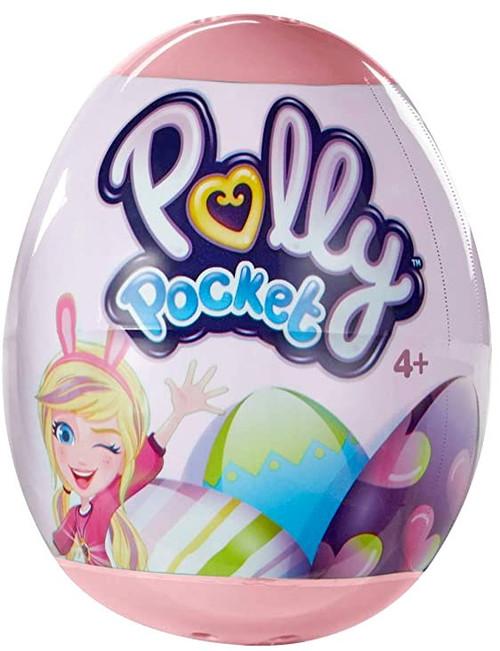Polly Pocket Easter Egg Mystery Pack [1 RANDOM Mini Polly Doll!]
