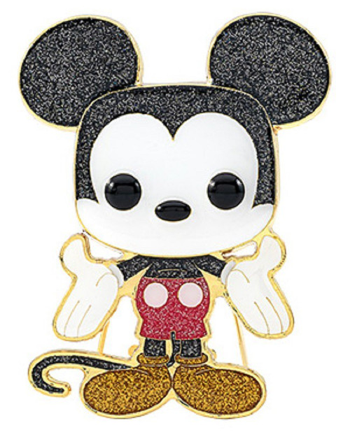 Funko Disney POP! Pins Mickey Mouse Large Enamel Pin (Pre-Order ships February)