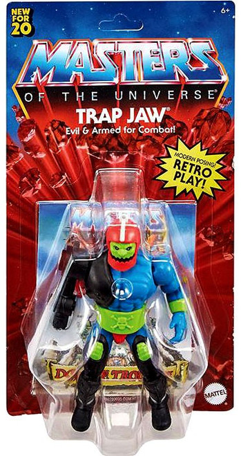 Masters of the Universe Origins Trap Jaw Action Figure (Pre-Order ships June)