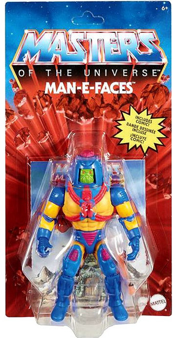 Masters of the Universe Origins Man-E-Faces Action Figure (Pre-Order ships June)