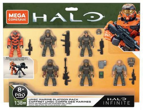 Halo Infinite UNSC Marine Platoon Pack 6-Figure Set [Spartan MK VII, Marine Demolition, Survivor, Rifleman, Technician & Sniper]