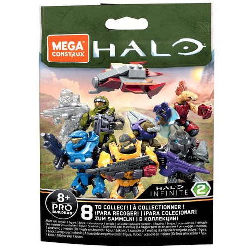 Halo Infinite Series 2 Minifigure Mystery Pack [1 RANDOM Figure!] (Pre-Order ships January)