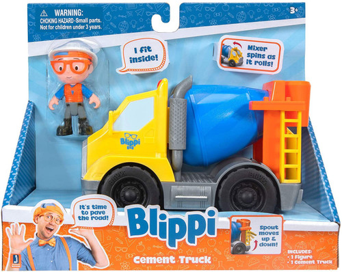 Blippi Cement Truck Vehicle