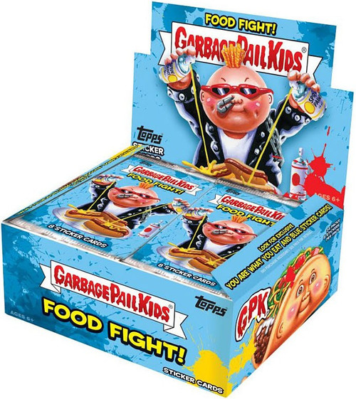 Garbage Pail Kids Topps Food Fight Trading Card RETAIL Box [24 packs] (Pre-Order ships March)