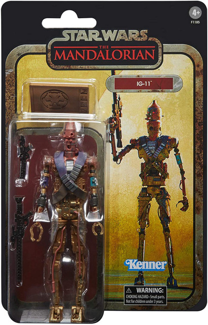 Star Wars The Mandalorian Black Series Credit Collection IG-11 Exclusive Action Figure