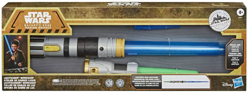 Star Wars Galaxy's Edge Lightsaber Workshop Peace & Justice Electronic Lightsaber