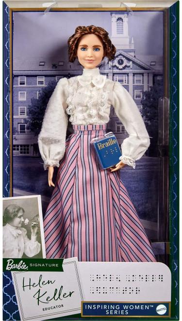 Barbie Inspiring Women Helen Keller Doll (Pre-Order ships April)