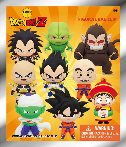 3D Figural Foam Bag Clip Dragon Ball Z Series 1 Mystery Pack [1 RANDOM Figure] (Pre-Order ships January)