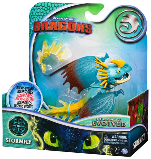 How to Train Your Dragon Dragons Legends Evolved Stormfly Action Figure