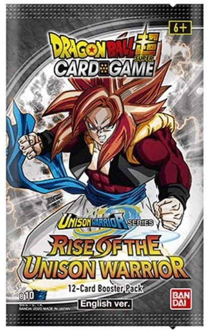 Dragon Ball Super Collectible Card Game Series 10 Rise of the Unison Warrior Booster Pack B10 [12 Cards]