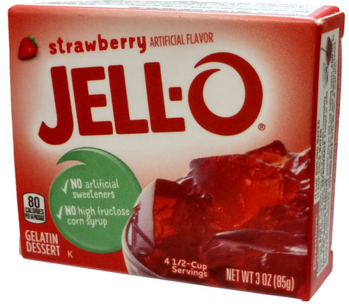 5 Surprise Mini Brands! Strawberry Jell-O 1-Inch Miniature [Loose]