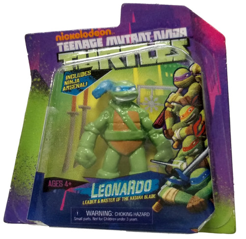 5 Surprise Mini Brands! Teenage Mutant Ninja Turtles 1-Inch Miniature [Leonardo Loose]