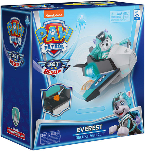 Paw Patrol Jet to the Rescue Everest Exclusive Deluxe Vehicle [Lights & Sounds!]