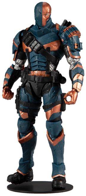 McFarlane Toys DC Arkham Origins Deathstroke Action Figure [Game Version]
