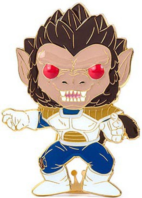Funko Dragon Ball Z POP! Pins Great Ape Vegeta Large Enamel Pin (Pre-Order ships January)