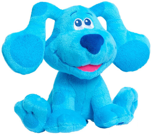 Blue's Clues & You! Barking Blue Exclusive 7-Inch Plush with Sound