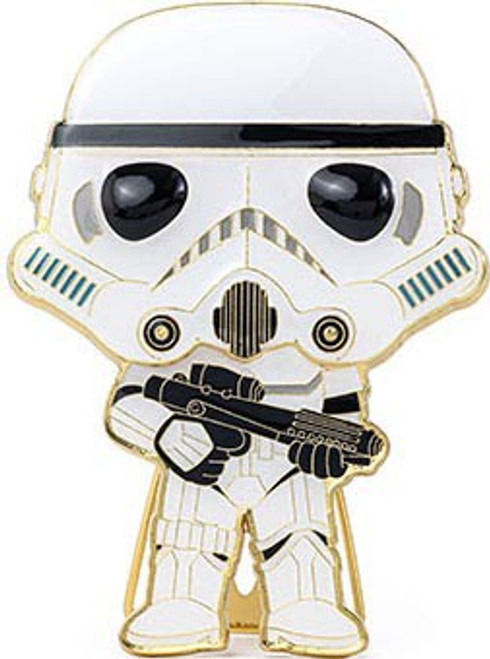 Funko Star Wars POP! Pins Stormtrooper Large Enamel Pin (Pre-Order ships January)