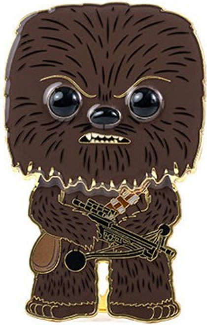 Funko Star Wars POP! Pins Chewbacca Large Enamel Pin (Pre-Order ships February)