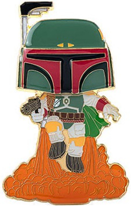 Funko Star Wars POP! Pins Boba Fett Large Enamel Pin (Pre-Order ships February)
