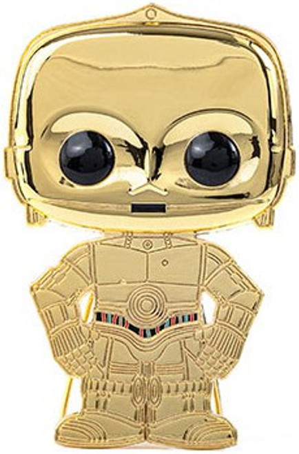 Funko Star Wars POP! Pins C-3PO Large Enamel Pin (Pre-Order ships January)