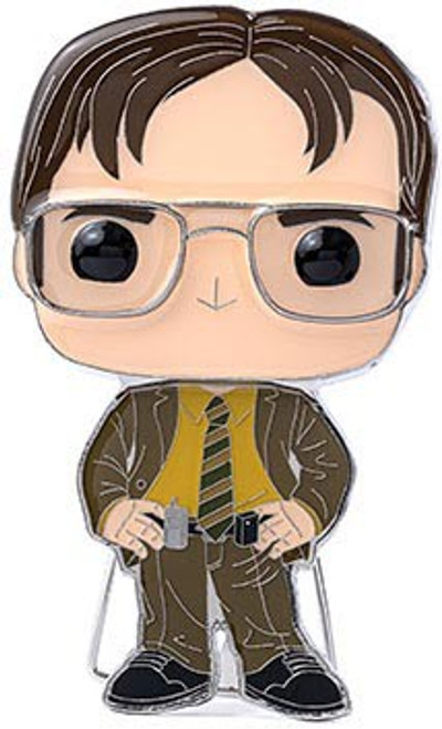 Funko The Office POP! Pins Dwight Schrute Large Enamel Pin