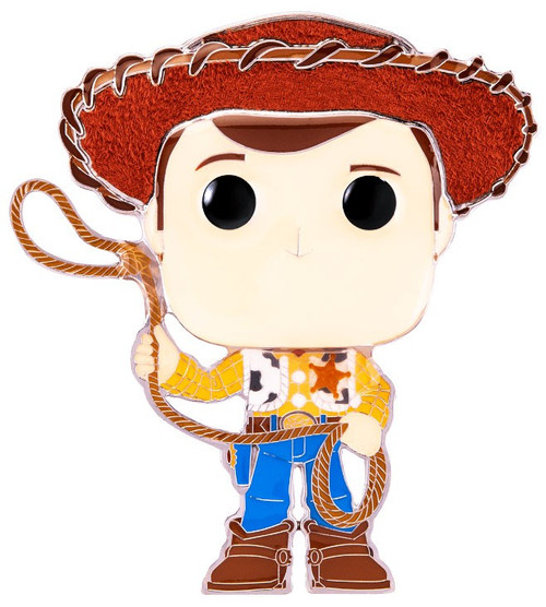 Funko Disney / Pixar POP! Pins Woody Large Enamel Pin