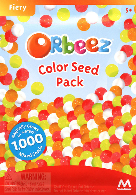 Orbeez Fiery Color Seed Pack