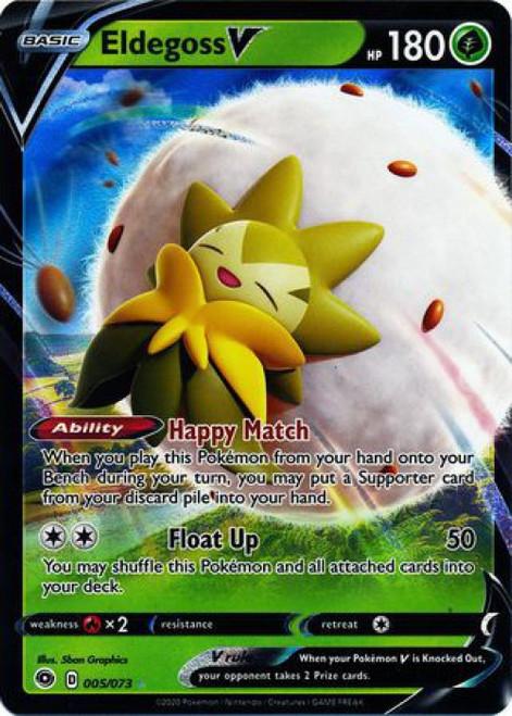 Pokemon Champion's Path Ultra Rare Eldegoss V #5