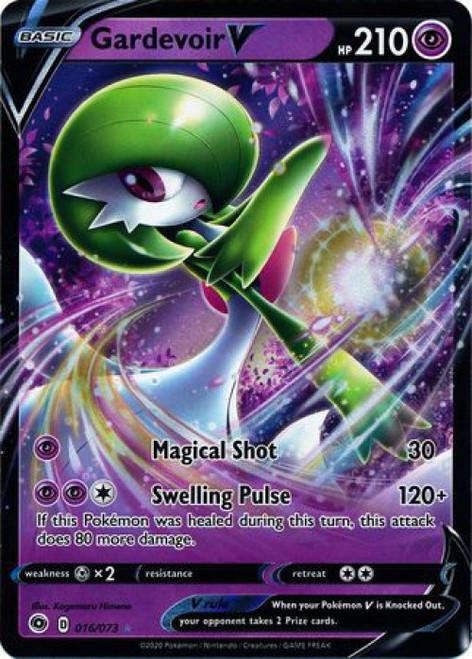 Pokemon Champion's Path Ultra Rare Gardevoir V #16