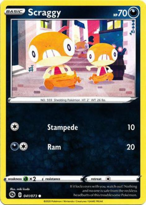 Pokemon Champion's Path Common Scraggy #41