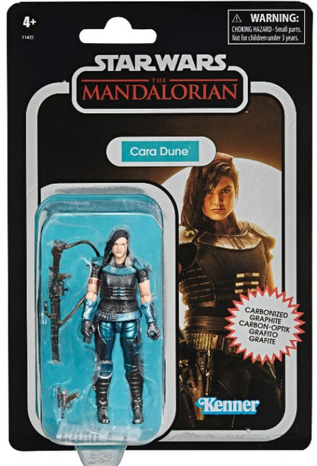 Star Wars The Mandalorian Vintage Collection Cara Dune Exclusive Action Figure [Carbonized]