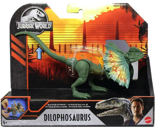 Jurassic World Dilophosaurus Action Figure [Savage Strike]